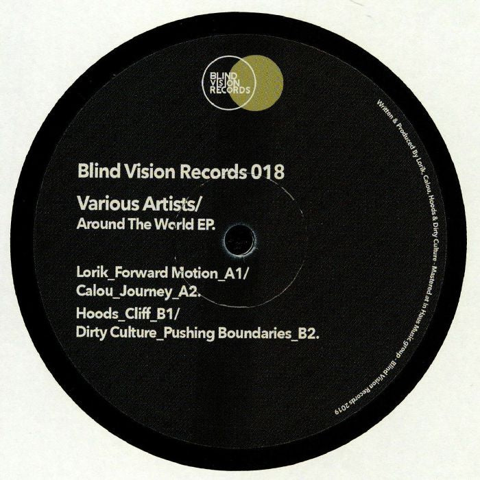 Various ‎– Around The World EP