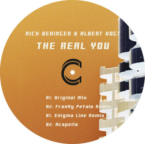Nick Beringer & Albert Vogt ‎– The Real You EP