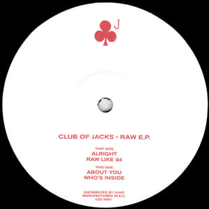 Club Of Jacks ‎– Raw EP