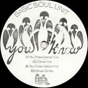 Basic Soul Unit ‎– You Knew EP