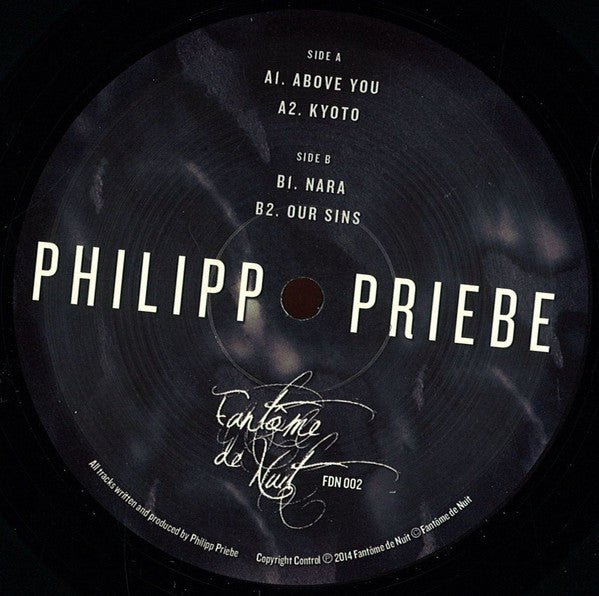 Philipp Priebe ‎– Our Sins Ep