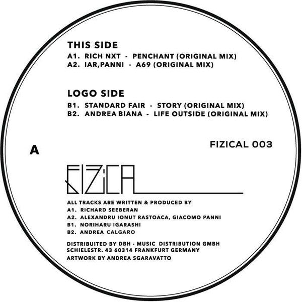 Various ‎– Fizical 003