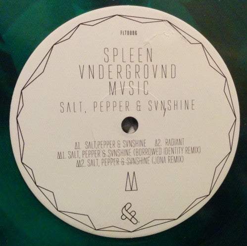 Spleen Underground Music ‎– Salt, Pepper & Sunshine