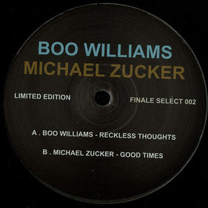 Boo Williams, Michael Zucker ‎– Finale Select 002