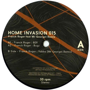 Franck Roger ‎– Home Invasion 015