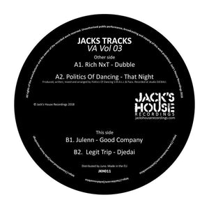 Various – Jacks Tracks Va Vol 03