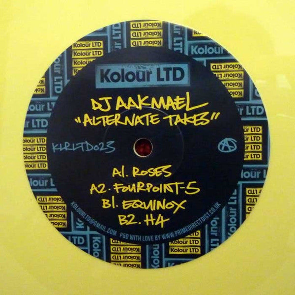 DJ Aakmael ‎– Alternate Takes