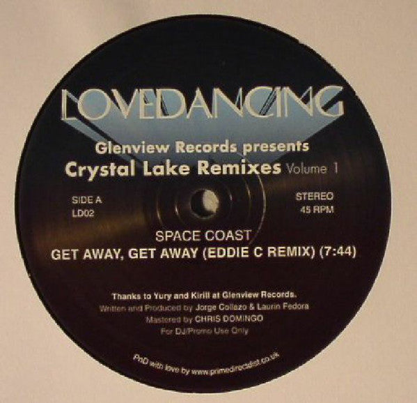 Space Coast ‎– Glenview Records Presents Crystal Lake Remixes Volume 1