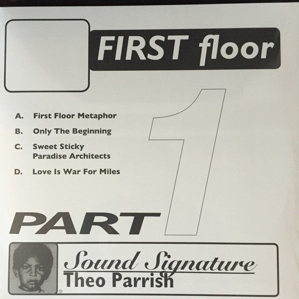 Theo Parrish ‎– First Floor (Part 1)