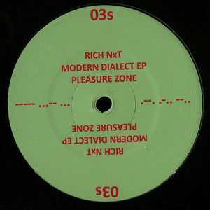 Rich NxT ‎– Modern Dialect EP