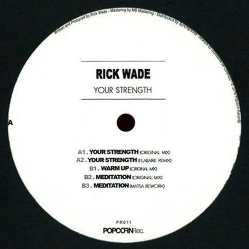 Rick Wade ‎– Your Strength