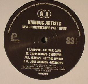 Various ‎– New Transmissions Part Three