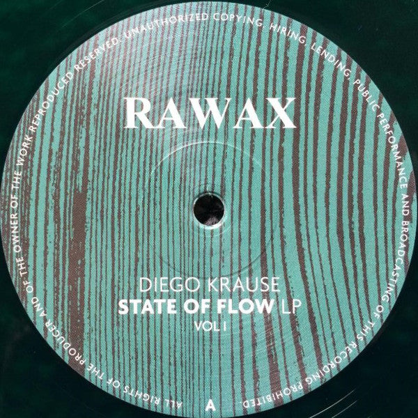 Diego Krause ‎– State Of Flow LP Vol I