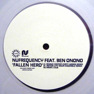 NUfrequency Feat. Ben Onono ‎– Fallen Hero