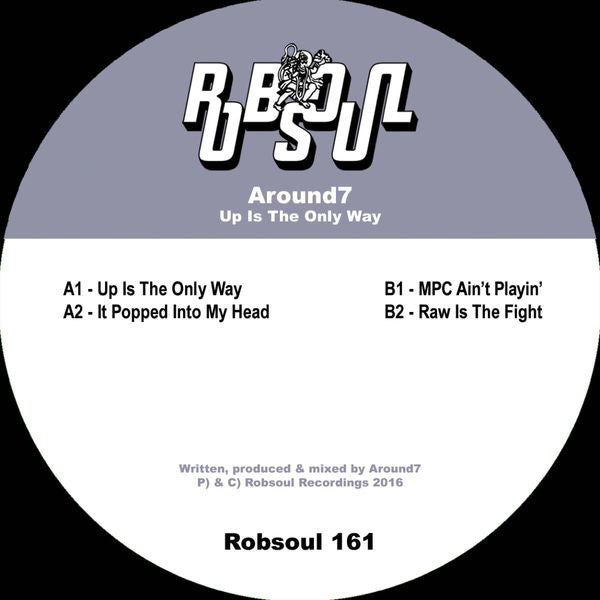 Around7 ‎– Up Is The Only Way