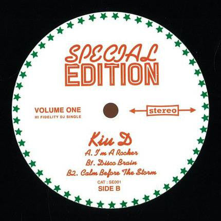 Kiu D ‎– Special Edition Volume One