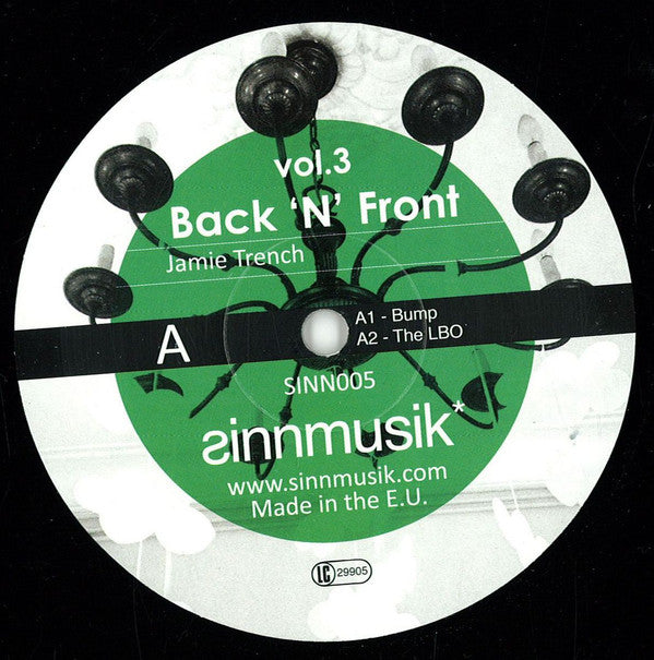 Jamie Trench and Georgi Barrel ‎– Back N Front Vol 3