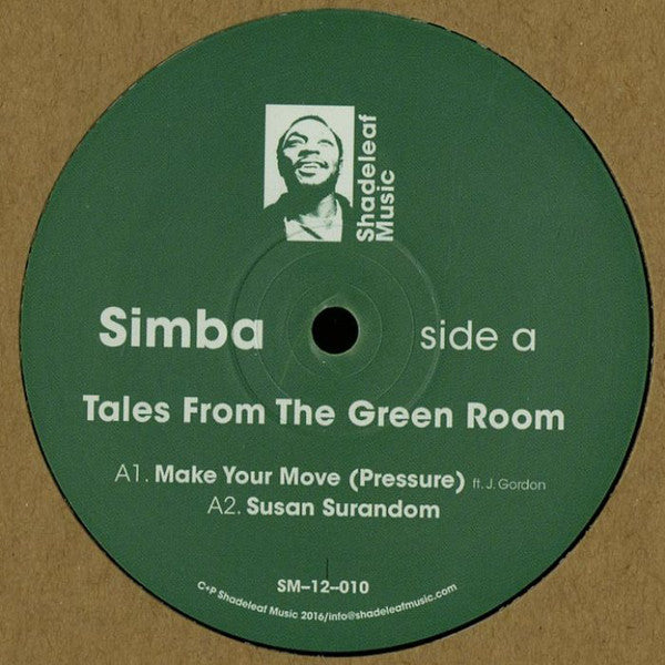 Simba – Tales From The Green Room