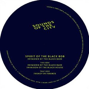 Spirit Of The Black 808 ‎– Invasion Of The Black Bass