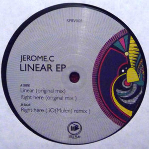 Jerome.c ‎– Linear Ep