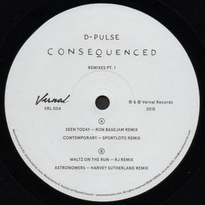D-Pulse ‎– Consequenced Remixes Pt 1