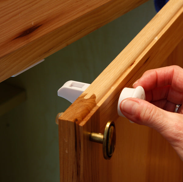 Child Proof Cabinet Locks With New Install Tool No Tools