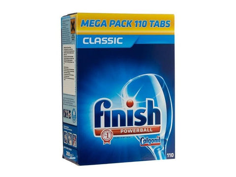 Finish 110pk powerball dishwashing tablets