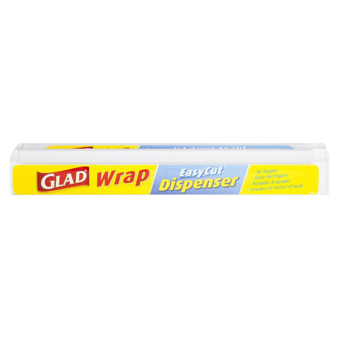 GLAD CLING WRAP 25m x 33cm EASY CUT DISPENSER