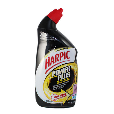 HARPIC 750mL TOILET CLEANER POWER PLUS SPRING POWER