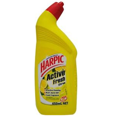 Harpic 450ml toilet cleaner active - Citrus