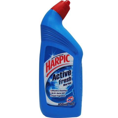 Harpic 450ml toilet cleaner active - Marine