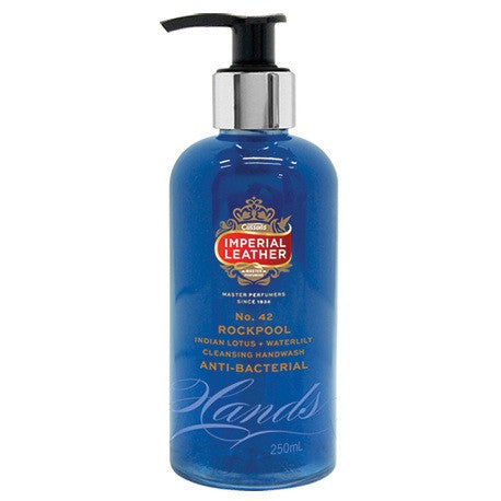 IMPERIAL LEATHER 250mL HANDWASH ANTI-BACTERIAL ROCKPOOL