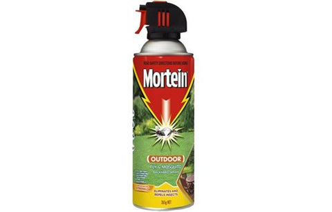 MORTEIN 265g OUTDOOR FLY & MOSQUITO BACKYARD SPRAY