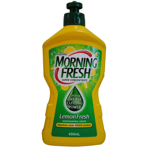 Morning Fresh 450ml super concentrate dishwashing liquid - Lemon fresh