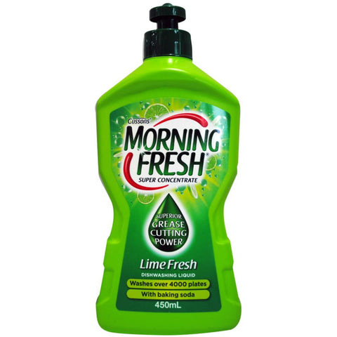 Morning Fresh 450ml super concentrate dishwashing liquid - Lime fresh