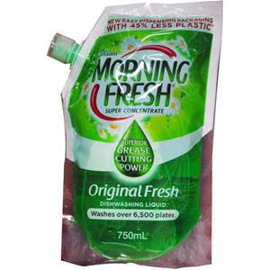 Morning Fresh 750ml super concentrate dishwashing liquid - Original