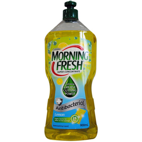 Morning Fresh 900ml antibacterial super concentrate dishwashing liquid - Lemon