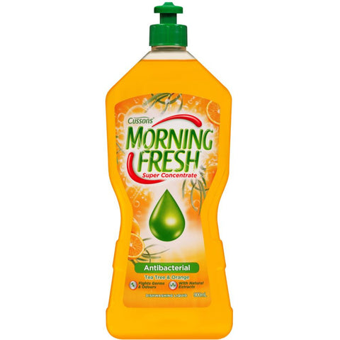 Morning Fresh 900ml antibacterial super concentrate dishwashing liquid - Tea tree & orange
