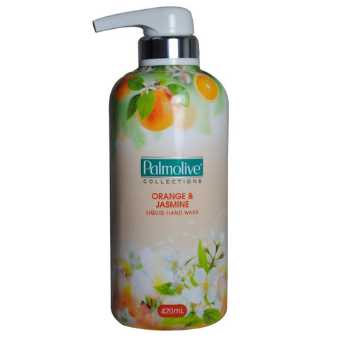 Palmolive 420ml collections handwash pump - Orange & jasmine