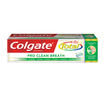 COLGATE 170g TOTAL TOOTHPASTE - Pro Clean
