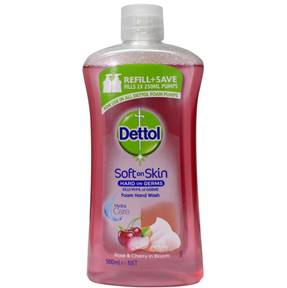 Dettol 500ml hand wash refill - Rose & Cherry