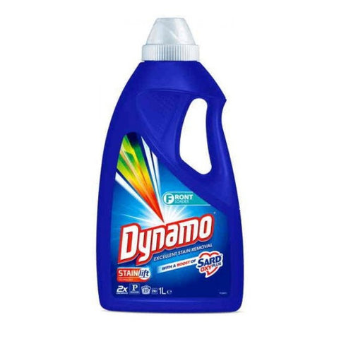 Dynamo 1L laundry liquid w/ a touch of Sard - Front loader