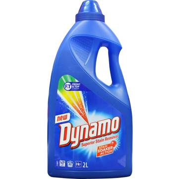 Dynamo 2L eucalyptus laundry liquid - Top loader