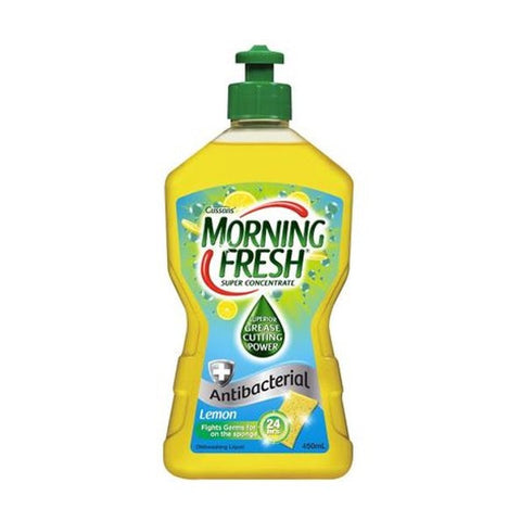 Morning Fresh 450ml antibacterial dishwashing liquid - Lemon