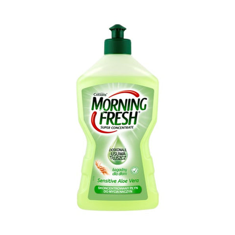 Morning Fresh 450ml dishwashing liquid - Sensitive w /aloe