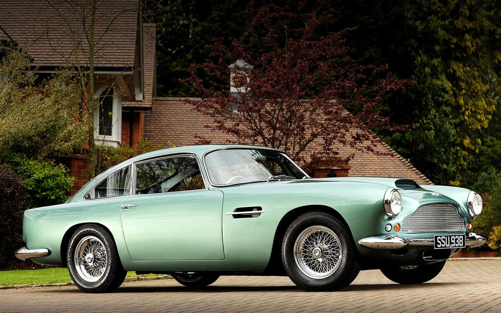 Aston Martin Db4 1958 Giclee Canvas Art Print Poster Wow Posters