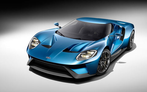 Ford Gt Studio Giclee Canvas Art Print Poster