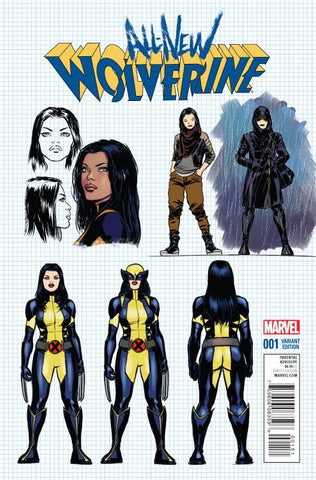 ALL NEW WOLVERINE #1 LOPEZ DESIGN VAR