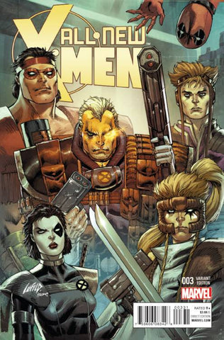 ALL NEW X-MEN #3 LIEFELD MARVEL 92 VAR