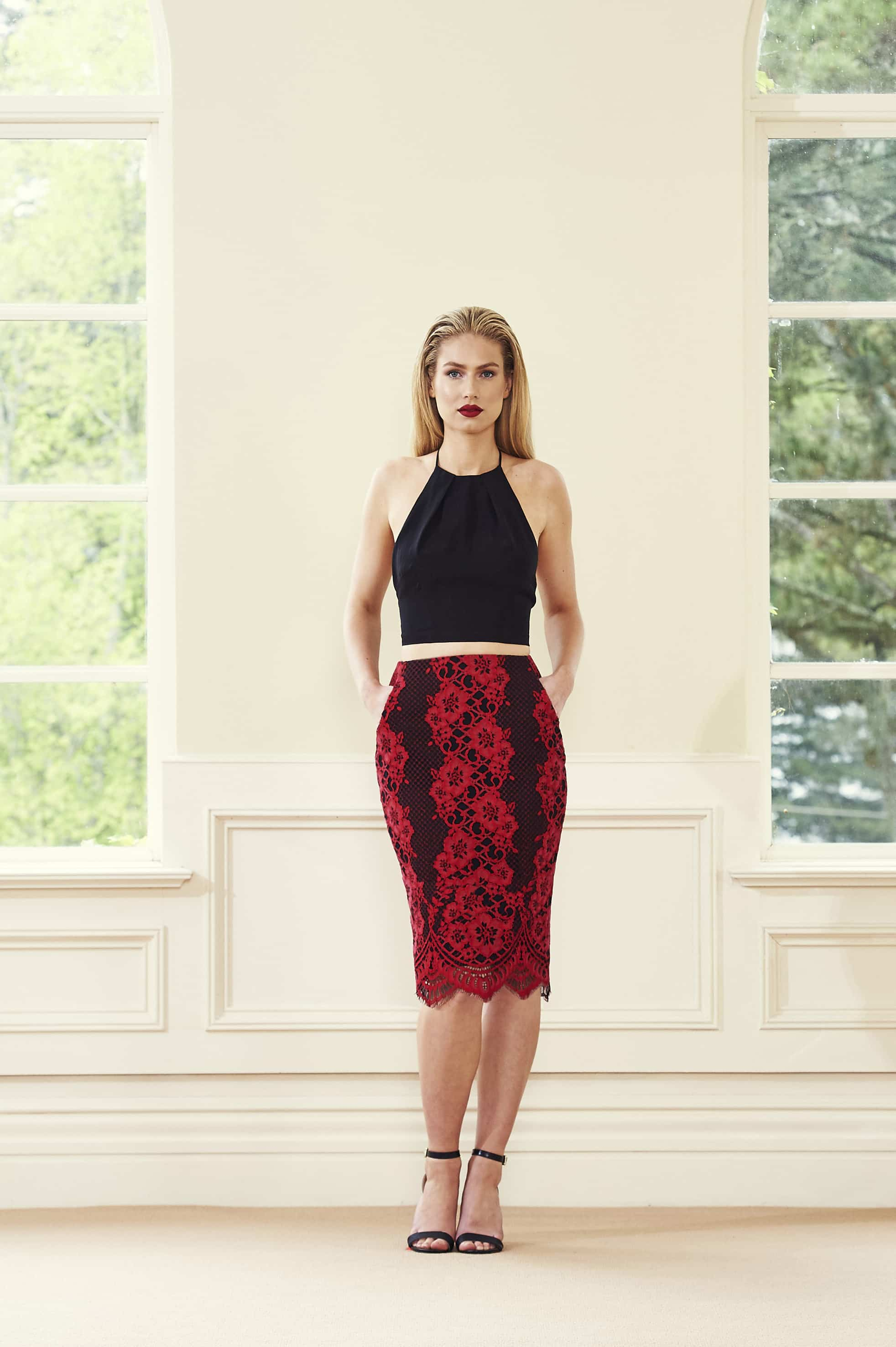 Vesta Crop and Skirt